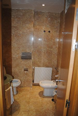 Bathroom With Deluxe Shower And Bidet Picture Of Petit Palace