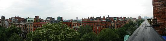 463 Beacon Street Guest House: The view from the 5th floor room 50
