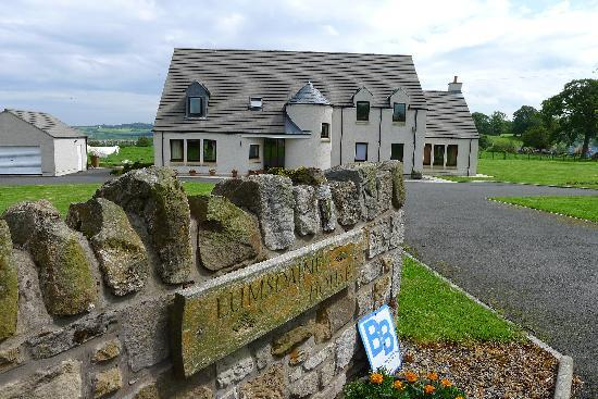 B & B  Lumsdaine House: The entrance to Lumsdaine