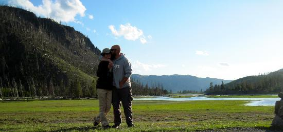 Madison Campground : Madison River, short walk from campground