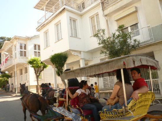 Buyukada, Turkey: 05.06.2011.