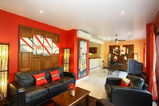 The Pe La Resort: Living Room 2 bed rooms Apartment - Living Room -
