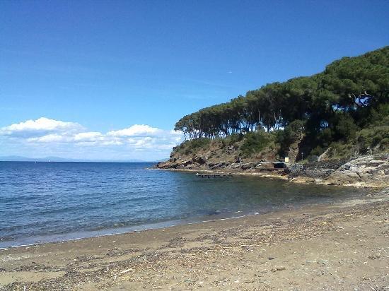 Capoliveri, Italië: la vista dal Ristorante Calanova