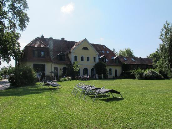 Gutshaus Solzow : Guthaus vom Garten