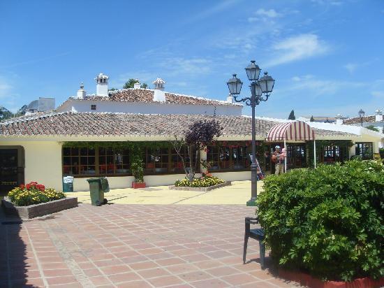 Globales Cortijo Blanco Hotel: Restaurant