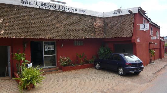 Hotel Breton: ENTREE HÖTEL