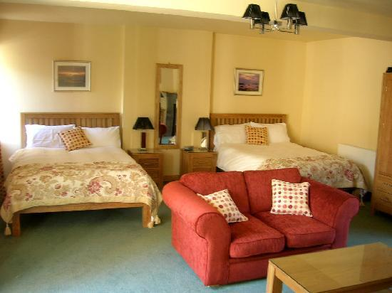North Berwick Golf Lodge: One of the fabulous double rooms