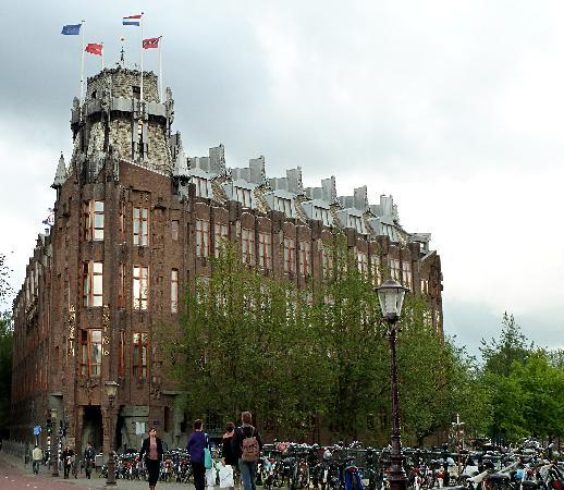 facade picture of grand hotel amrath amsterdam amsterdam tripadvisor. Black Bedroom Furniture Sets. Home Design Ideas