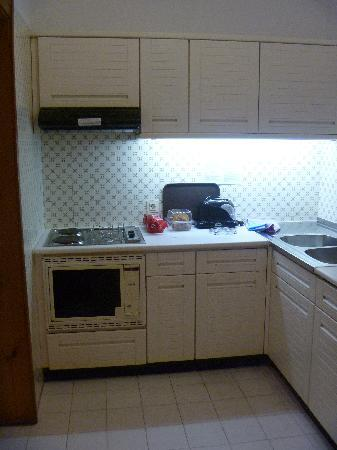 Hotel Almar: kitchen
