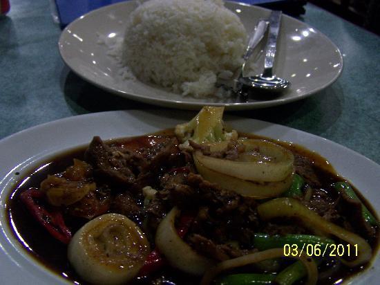 Panuba Inn Resort : Tasty