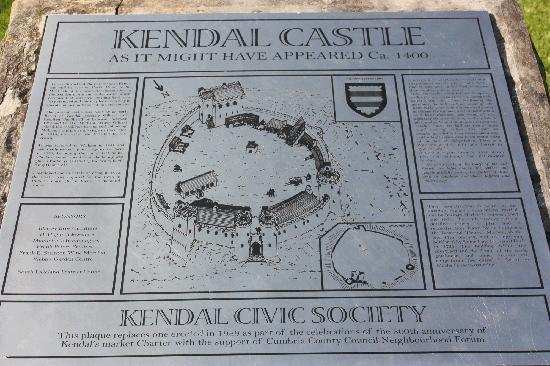 Kendal, UK: Info on the Castle