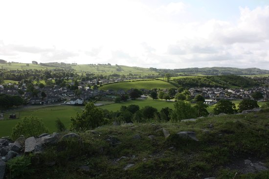 Kendal, UK : View from the Castle