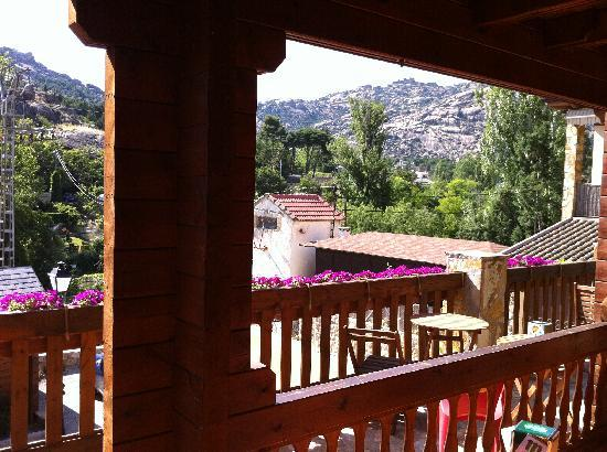 Manzanares el Real, Spagna: Desde la terraza
