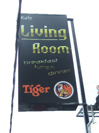 Living Room Cafe Bar U0026 Gallery: Living Room Signboard @ Roadside