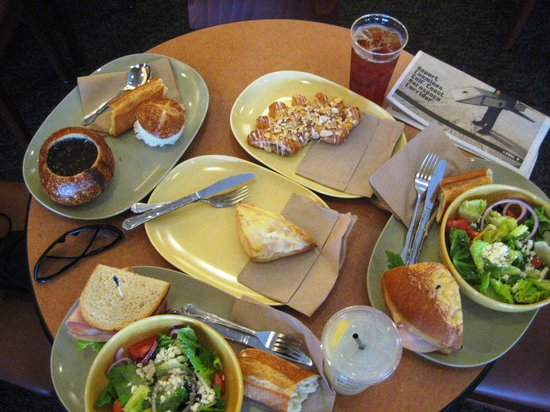 Panera Bread: Our meal on Father's Day which cost $22