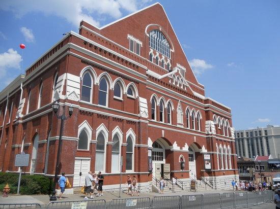 Ryman Auditorium : External shot.