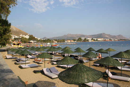 Kadikale Resort: Sunbathing area