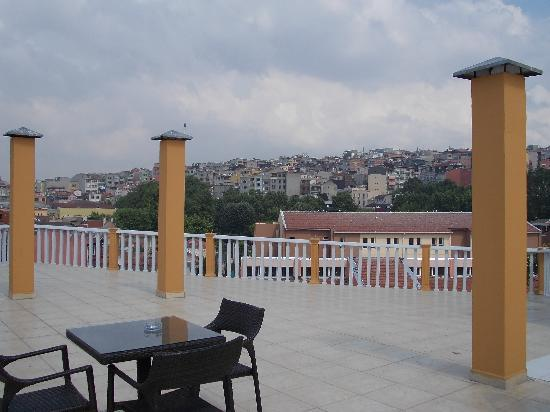 Best Western Antea Palace Hotel & Spa: Terrace view 3