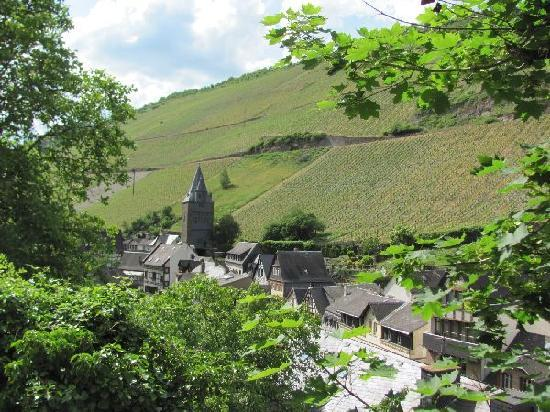 Bacharach, Germania: the other side