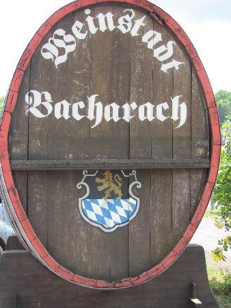 Bacharach, Jerman: in the vicinity of the parkinglot