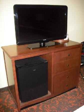 Chambersburg, Пенсильвания: Flat Screen TV and refrgerator