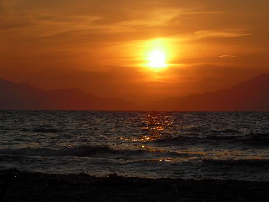 Cavo d'Oro: Sunset over Kalimnos