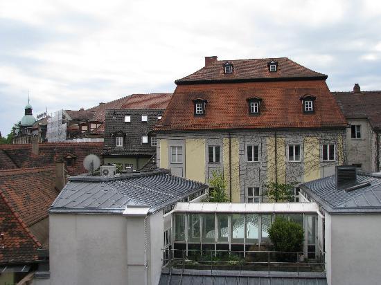 Romantik Hotel Weinhaus Messerschmitt: View from Our Room
