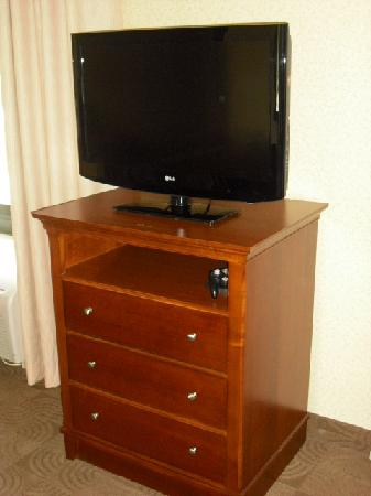 Hampton Inn & Suites Ephrata - Mountain Springs: Flat screen LCD TV