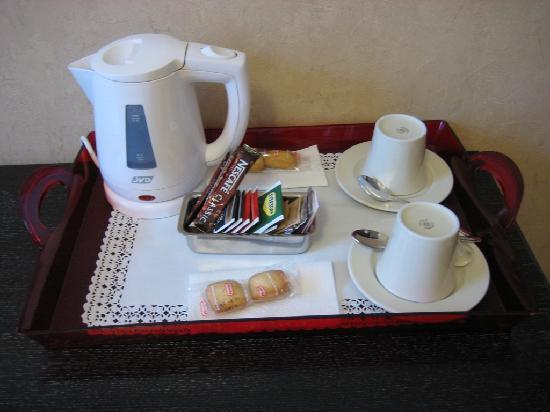 Mocenigo Vatican Suites: Vassoio per bevande calde