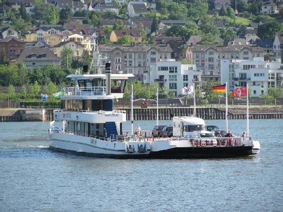 Bingen am Rhein, Alemanha: ship