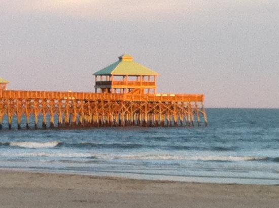 Folly Beach, SC: View from our room
