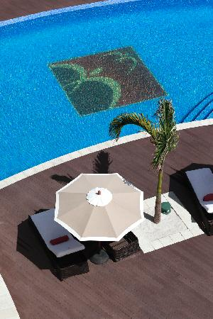 Buccament Bay Resort : Pool Aerial View