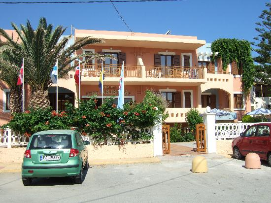 Aristea Hotel Rethymnon : Front of hotel