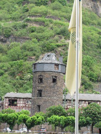 Kaub, Tyskland: a tower