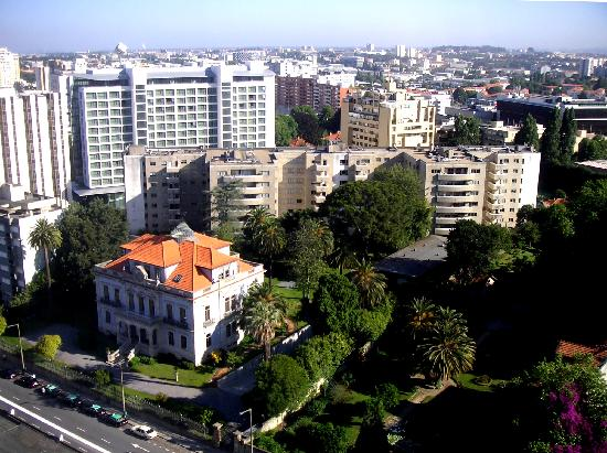 Porto Palacio Congress Hotel & Spa: Blick aus dem Fenster