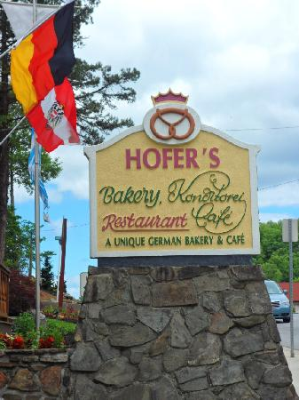 Hofer's of Helen: You won't be sorry!