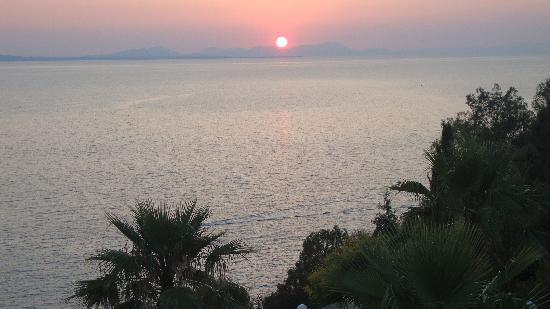 Regina Mare: The beautiful sunset