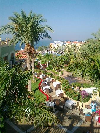 Bahia Principe Costa Adeje: View down the hotel gardens