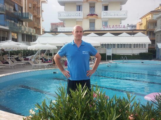 Hotel Galassia: la foto della piscina