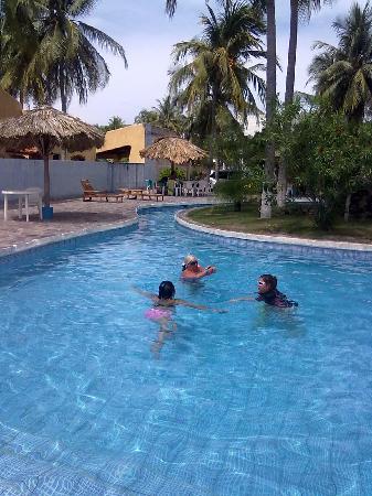 La Herradura, El Salvador: area piscina