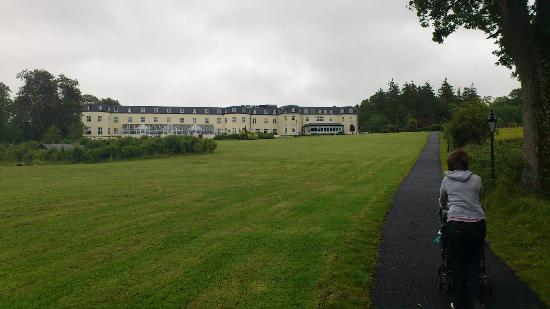 Bloomfield House Hotel, Leisure Club & Spa: Side of hotel from Lake Walk