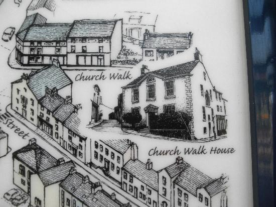 Church Walk House: street view of Ulverston