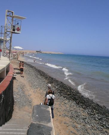 Bungalows Vista Oasis Apartments: Maspalomas beach-watch out for Anfi timeshare and touts