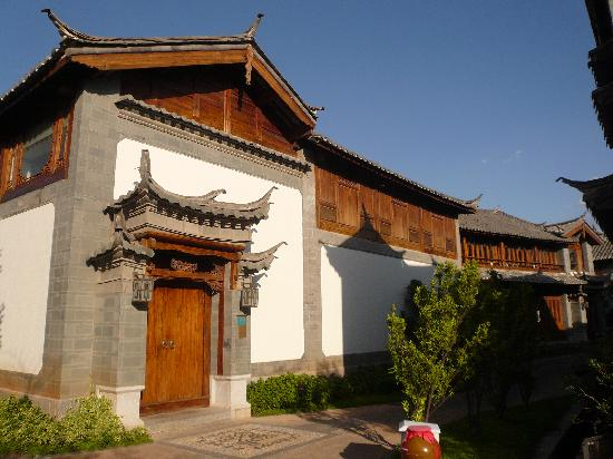InterContinental Lijiang Ancient Town Resort: my hotel room from outside