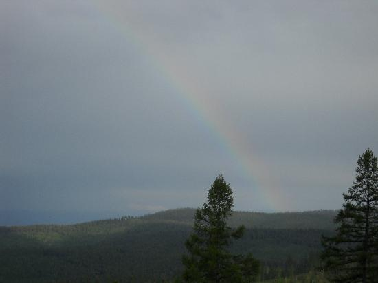 Kalispell, Монтана: See the rainbow?
