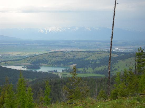 Kalispell, MT: Halfway point of the ride
