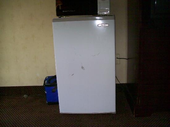 ويندام جاردن آن أربور: Kicked in fridge