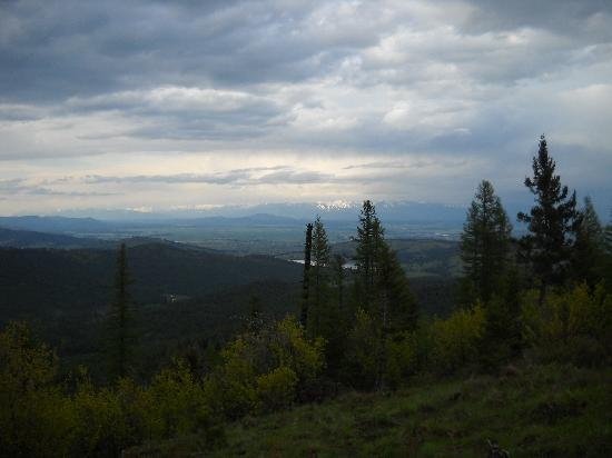 Kalispell, MT: Awesome views during the whole ride.
