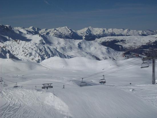 Macot-la-Plagne, France: feb 2011