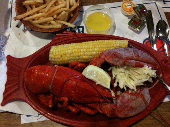 Lobster Claw: Nice Lobster Dinners